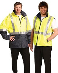 SW20A 3 In 1 Safety Vest With 3m Tapes (sw18a+sw19a)